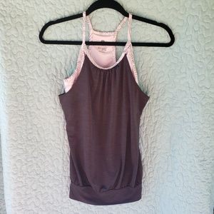 XS Old Navy Active Tank top with Attach Sports Bra